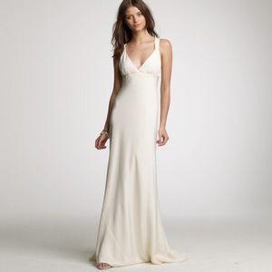 J Crew Dresses Silk Jcrew Wedding Dress Poshmark